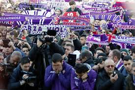 funeral fans photos fiorentina fans turn florence purple as they say goodbye