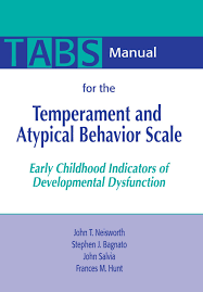 manual for the temperament and atypical behavior scale tabs