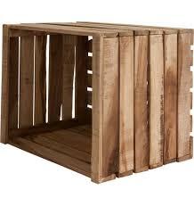 rana recycled wood storage box natural