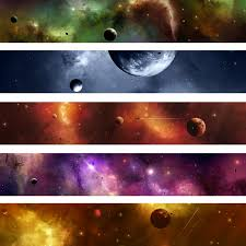 galaxy wall mural space galaxy banner wall mural 窶 pixers箘 窶 we live to change