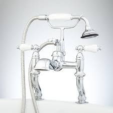 Clawfoot Tub Fixtures Deck Mount Clawfoot Tub Faucet With Shower