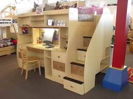 Bunk Beds With Trundle Plans Doll Bed With Trundle Bunk And Loft - Trundle bunk bed with desk