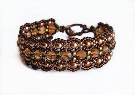 beading bracelet tutorials images Free pattern for bracelet dark honey beads tutorial honey and beads jpg