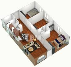 3 bedroom house floor plan mesmerizing 3d simple house plans designs 3 bedroom house floor