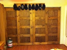 Pine Bifold Closet Doors Knotty Pine Closet Doors Closet Doors