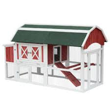 Precision Old Red Barn Chicken Coop New Age Pet Cambridge Chicken Barn Coop