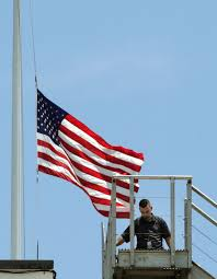 Flag Flown At Half Mast From Party Platforms To A Flag At Half Staff Do Symbols Mean