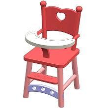 chaise haute poup e you me chaise haute pour poupée you me toys r us