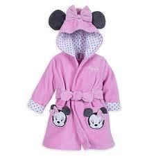 robe de chambre minnie peignoir de bain minnie mouse pour bébé