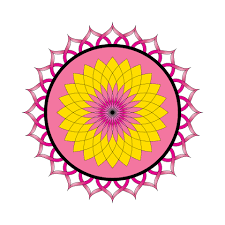 lotus flower mandala ornament free stock photo domain