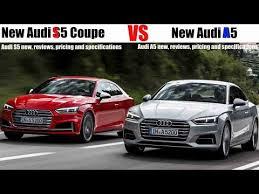 audi s5 v6t price 2017 audi a5 vs 2017 audi s5 coupe