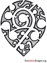 hawaiian tattoos flower tribal band designs