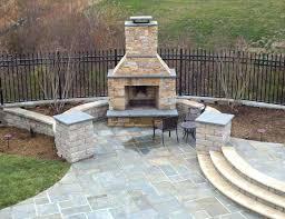 Outdoor Fireplace Patio Stone Fireplace Patio Rice Nursery Landscaping Designs Build