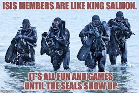 Navy Seal Meme - image tagged in navy seals in surf imgflip
