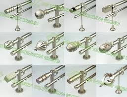 Polished Chrome Curtain Rods Twisted Metal Curtain Rod Folding Curtain Rod Polished Chrome