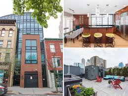 Home 99 by Come Home To Modern Luxury In Paulus Hook At This Spacious Triplex