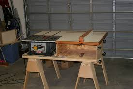 how to build a table saw workstation table saw stand plans contemporary station a la nyw markthedev com