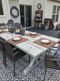 Outdoor Rugs For Deck by Outdoor Decor Stenciled Rug U2014 The Other Side Of Neutral
