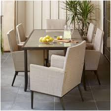 Round Table Patio Dining Sets - furniture walmart patio dining sets with umbrella aria 7 piece