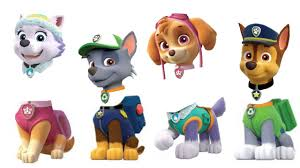 paw patrol wrong heads match colors learning learn colors