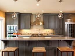 kitchen design 20 do it yourself kitchen cabinets painting ideas diy double tone grey combine creamed kitchen cabinet painting unique ball pendant lamps light creamed