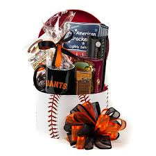 gift baskets san francisco baseball is back our san francisco giants gift box is a day