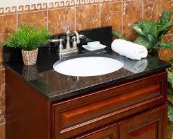 black granite vanity tops