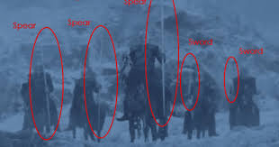 White Walker Meme - this tiny got detail has fans worried the white walkers are so