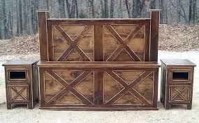 Rustic Wooden Bedroom Furniture - bedroom rough country rustic furniture
