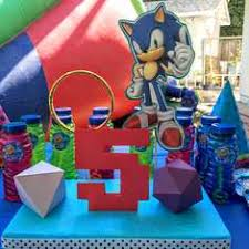 sonic the hedgehog party supplies sonic the hedgehog party ideas for a boy birthday catch my party