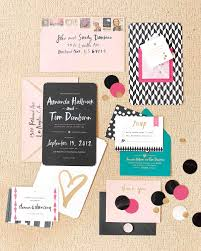 7 wedding invitation etiquette tips martha stewart weddings