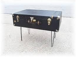 steamer trunk end table u2014 home design and decor antique vintage