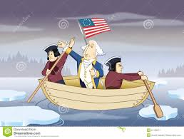 Delaware travel clipart images George washington crossing the delaware river stock vector image jpg