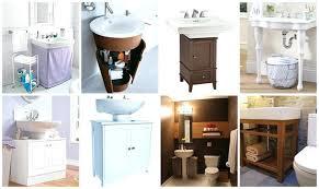 bathroom sink storage ideas pedal sink storage under bathroom sink storage plain ideas
