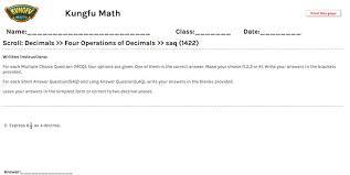 math grade 5 decimals worksheets and resources singapore math