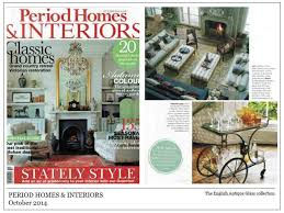 period homes and interiors antique glass gallery press