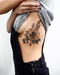 sunflower douglas fir cornflower huckleberry by baughan