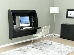 Wall Mounted Desk Ideas Articles With Wall Mounted Computer Desk Design Tag Cozy Wall