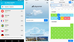 skyscanner updates flights app adds u0027everywhere u0027 search ratings