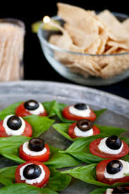 Eyeball Appetizers For Halloween Look At These Creepy Halloween Treats And They Stare Back At You