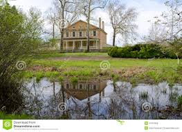 pine barrens mansion stock photo image 41354368