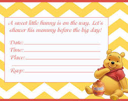 winnie the pooh baby shower invitations 14 heart warming winnie the pooh baby shower invitations