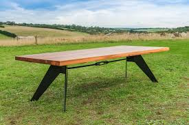 Timber Boardroom Table Black And Timber Dining Tables