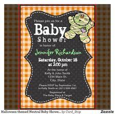 halloween baby shower invitations baby shower invitations