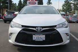 stevens creek lexus body shop certified pre owned 2015 toyota camry se 4dr car in san jose