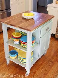 diy kitchen island cart blue roof cabin diy industrial kitchen
