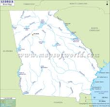 Georgia rivers images Georgia rivers map usa jpg