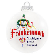 frankenmuth glass ornament exclusive collection bronner s