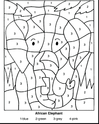 1st grade math coloring sheets spring printable color