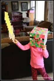Halloween Costumes Minecraft Minecraft Skeleton Costume Son U0027s Halloween